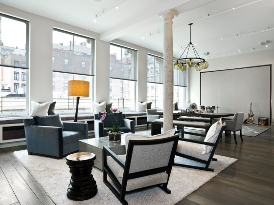 new york modern design loft